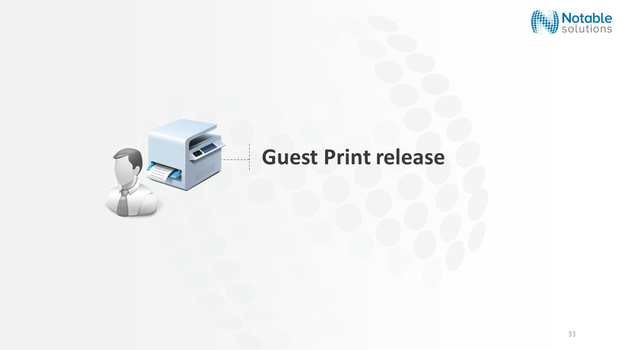 33 Guest Print release