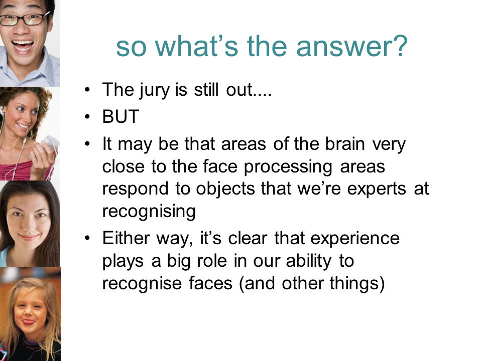 so what's the answer. The jury is still out....