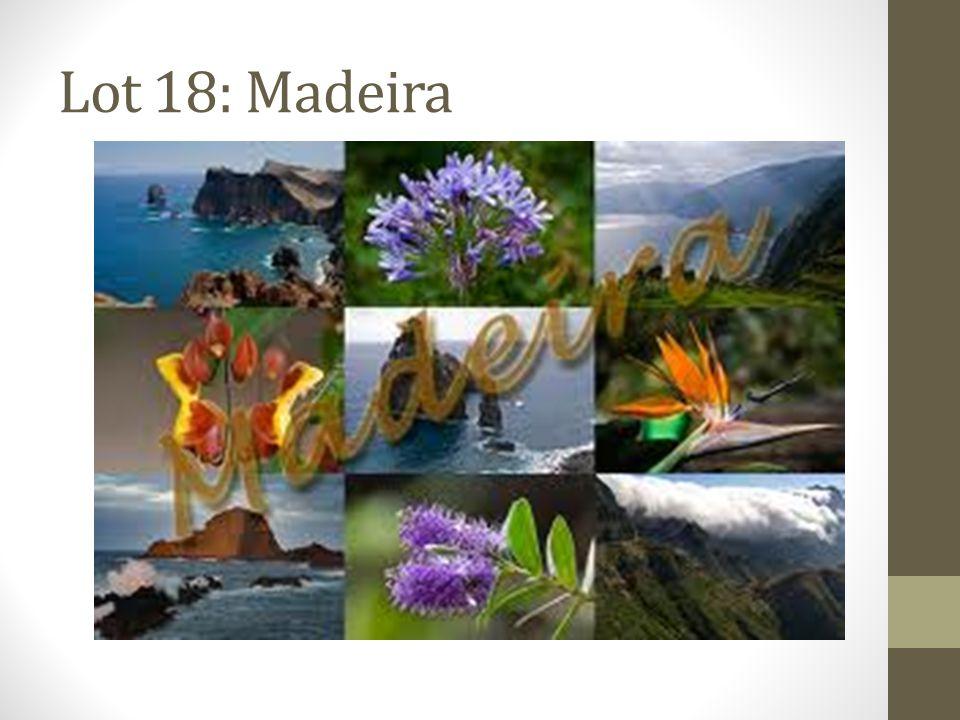 Lot 18: Madeira