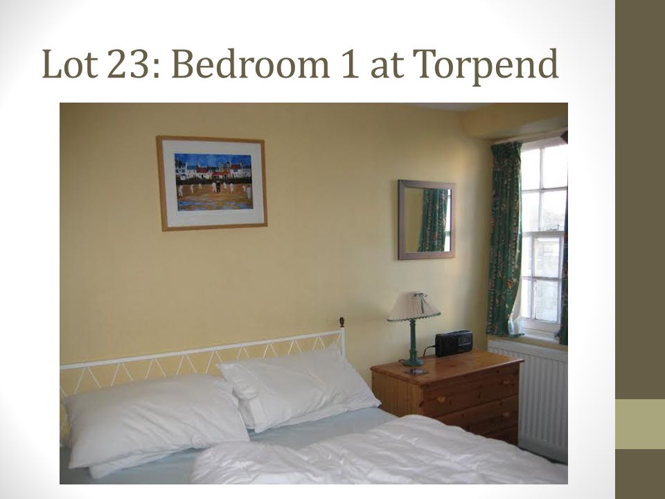 Lot 23: Bedroom 1 at Torpend