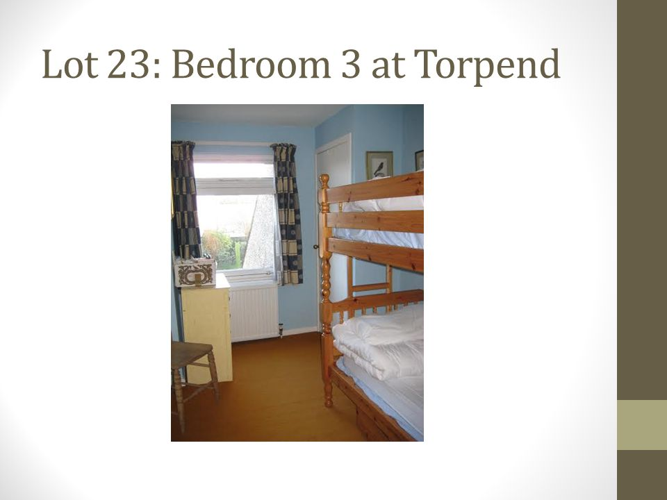 Lot 23: Bedroom 3 at Torpend