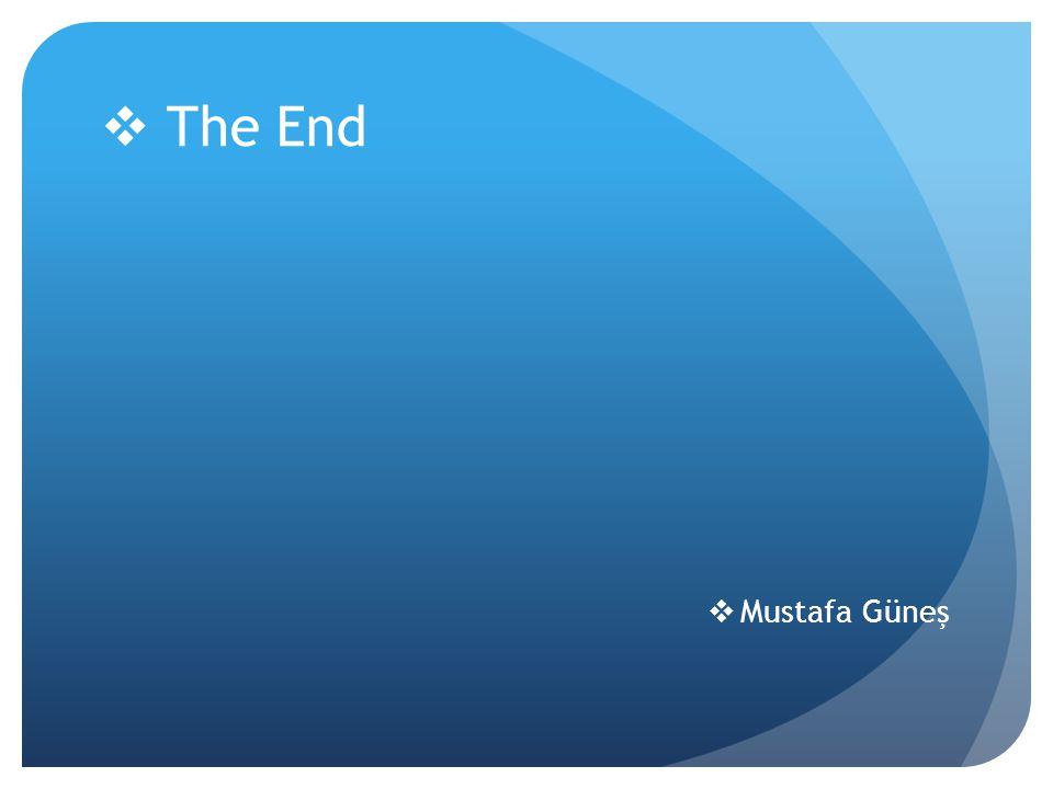  Mustafa Güneş  The End