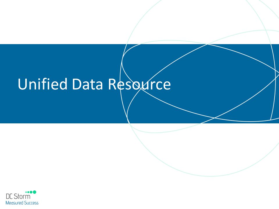Unified Data Resource