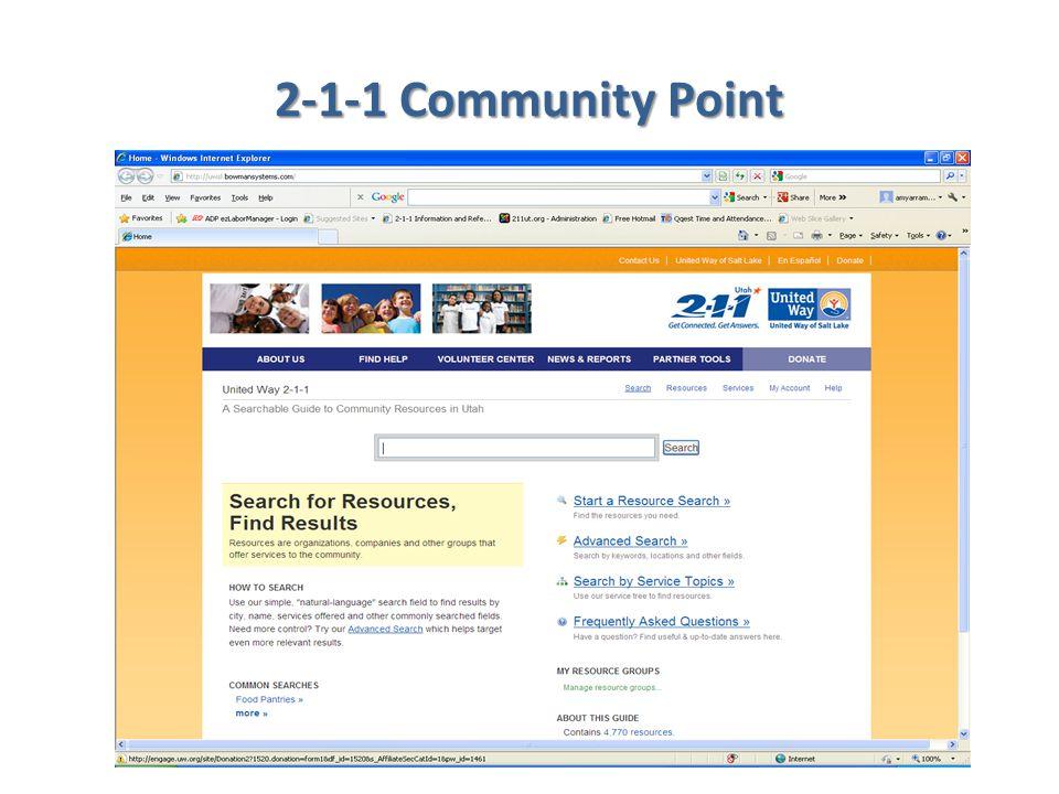 2-1-1 Community Point