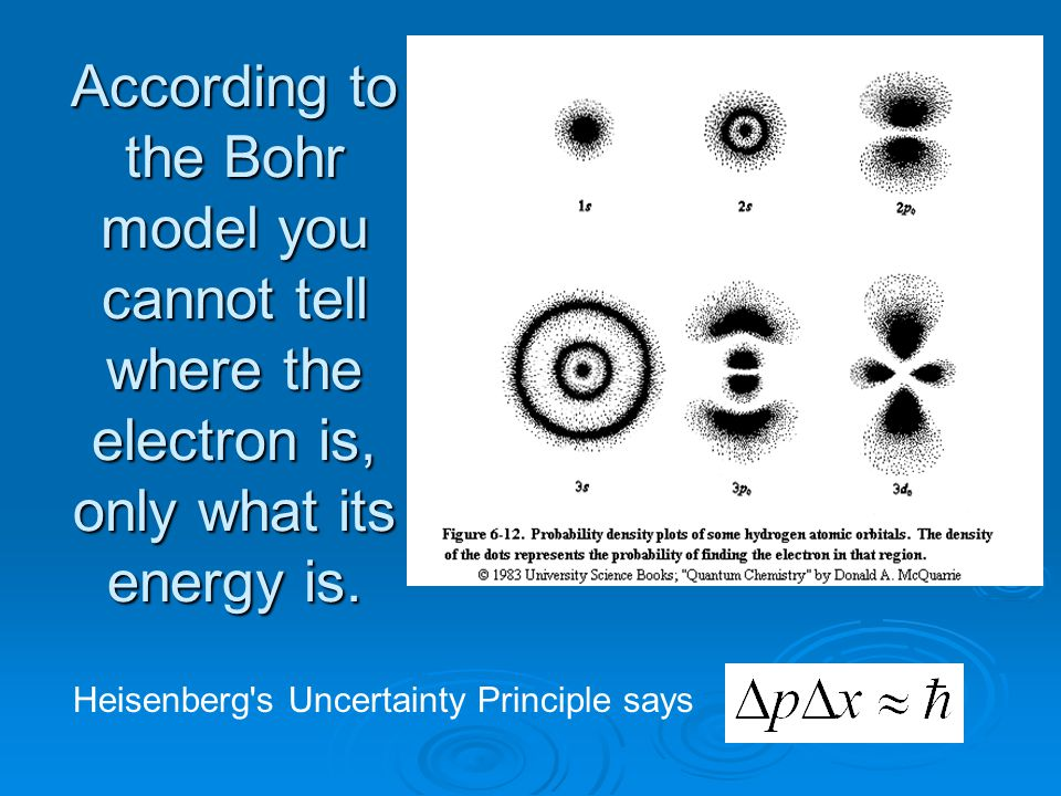 According to the Bohr model you cannot tell where the electron is, only what its energy is.