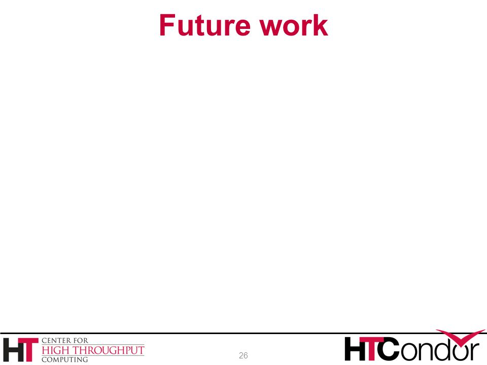 Future work 26