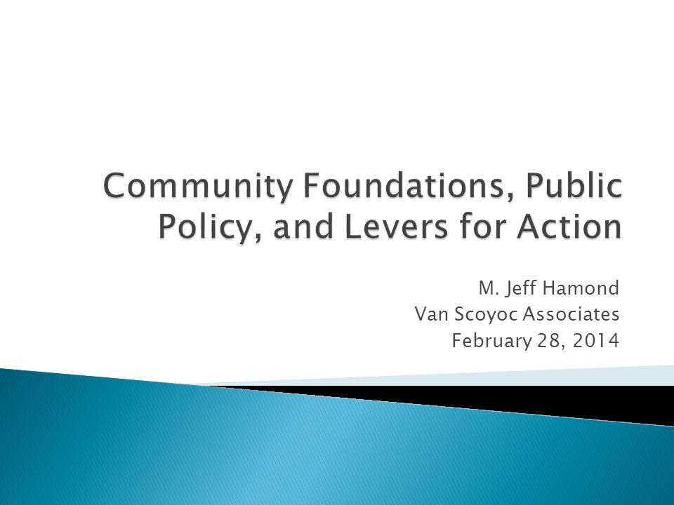 M. Jeff Hamond Van Scoyoc Associates February 28, 2014