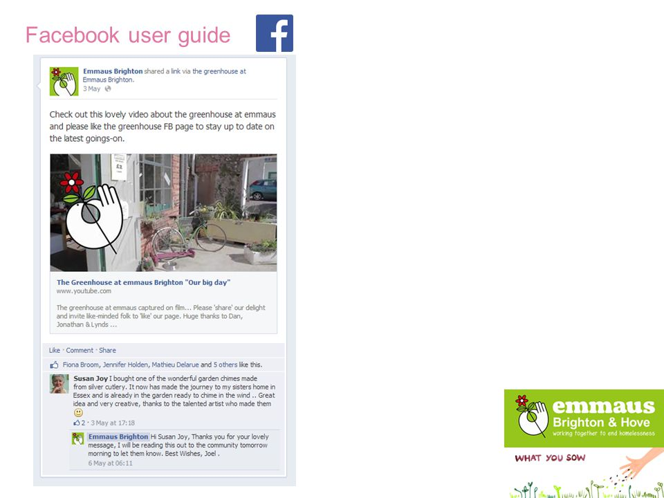 Twitter user guide Twitter Be sociable – it's a person to person platform.