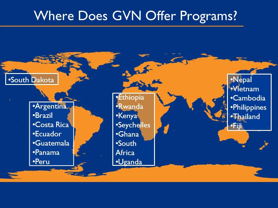 Where Does GVN Offer Programs.