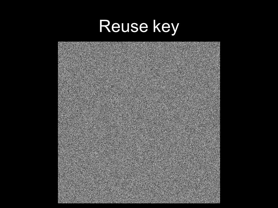 Reuse key