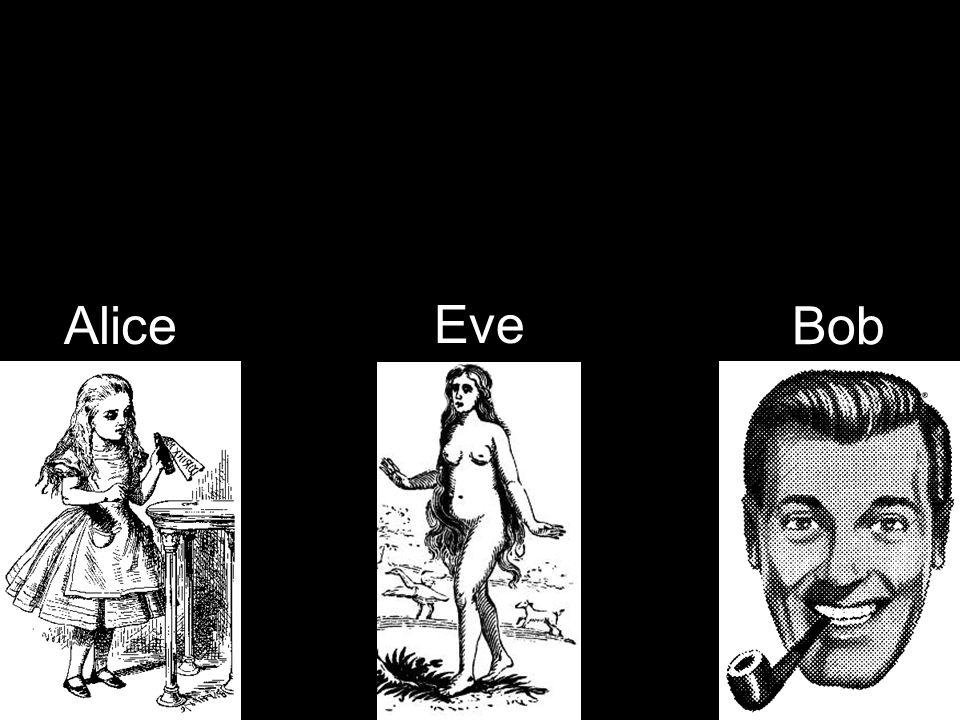 Alice Bob Eve