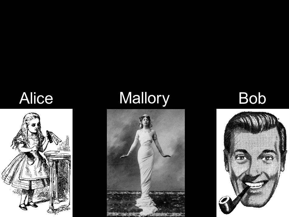 Alice Bob Mallory
