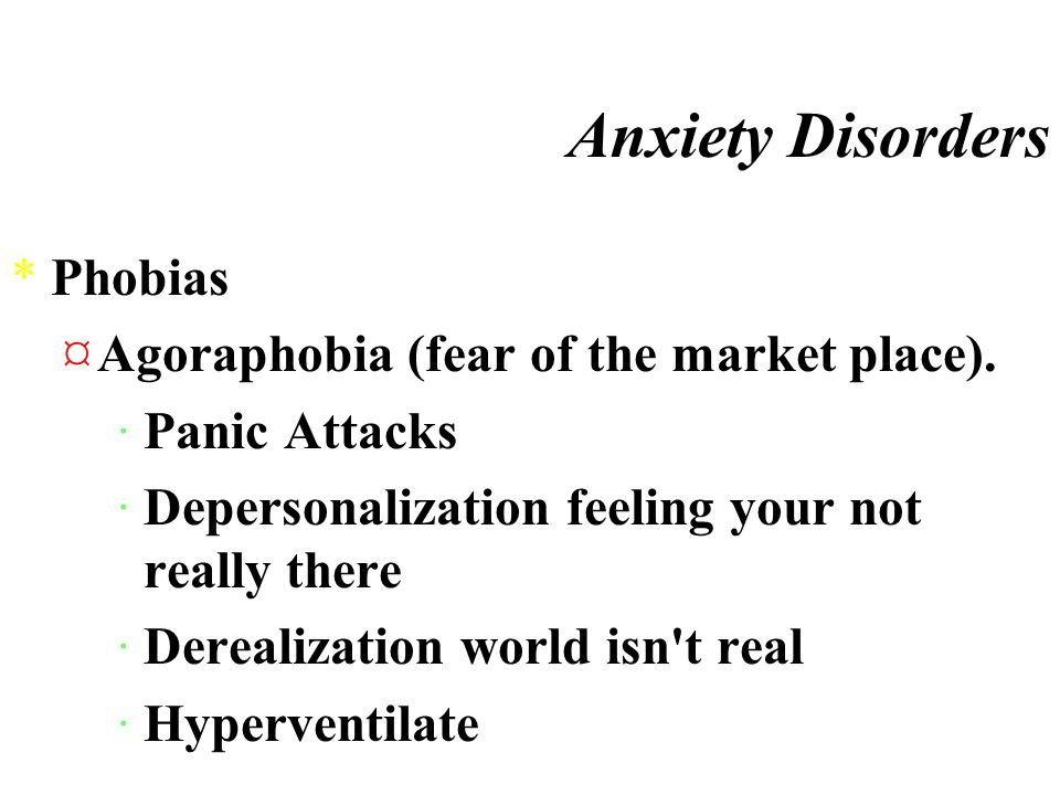 Anxiety Disorders *Generalized Anxiety Disorder ·symptoms *http://mentalhelp.net/disorders/sx24.htmhttp://mentalhelp.net/disorders/sx24.htm ·link page *http://www.shakey.net/gad.htmlhttp://www.shakey.net/gad.html