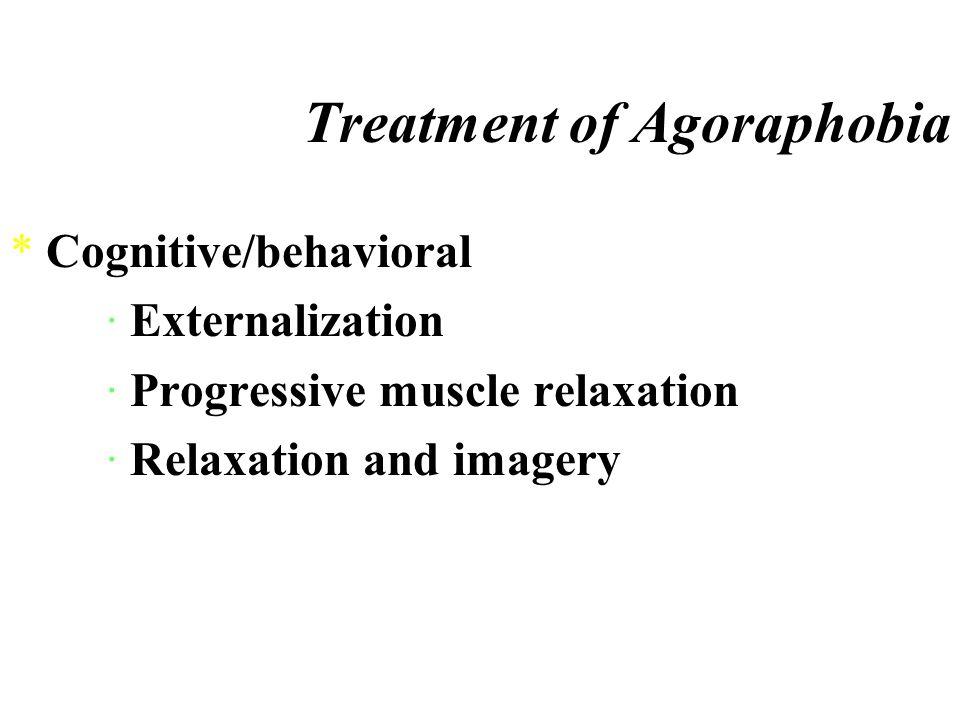 Etiology of Agoraphobia *Premorbid personality *Stress