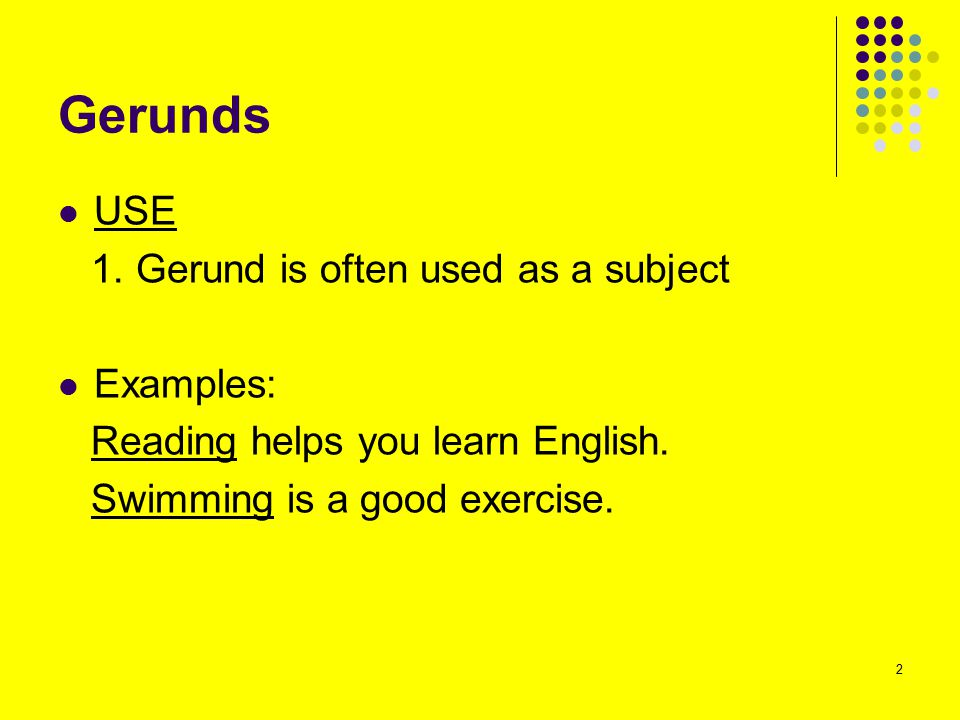Gerunds and Infinitives Some verbs (e.g.