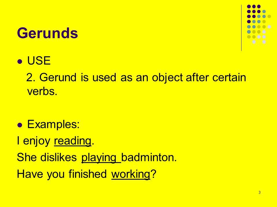 Gerunds and Infinitives BE CAREFUL.