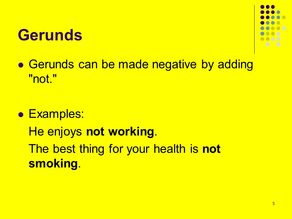 Gerunds and Infinitives BE CAREFUL.'To' can be part of the infinitive or it can be a preposition.