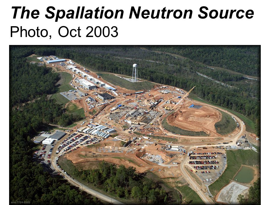 The Spallation Neutron Source Photo, Oct 2003