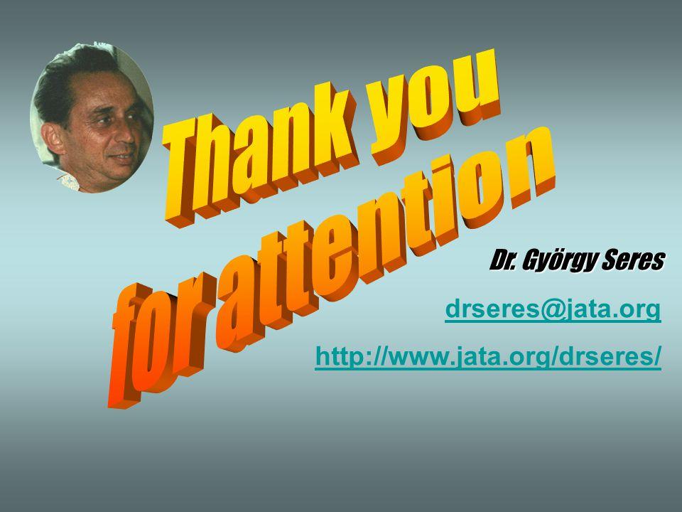 Dr. György Seres drseres@jata.org http://www.jata.org/drseres/