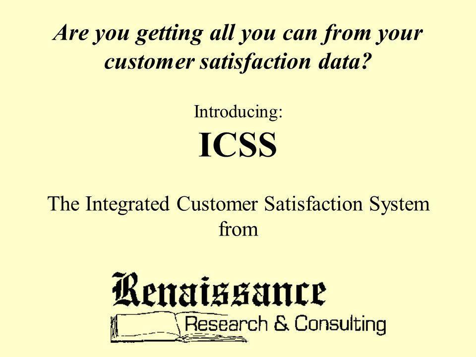Are you getting all you can from your customer satisfaction data.