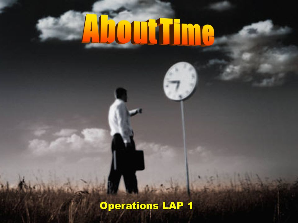 Operations LAP 1