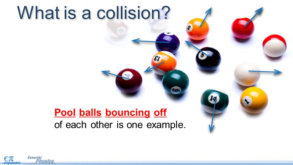 p i = p f m 1 v i1 = m 1 v f1 + m 2 v f2 The balls stick together after this collision.