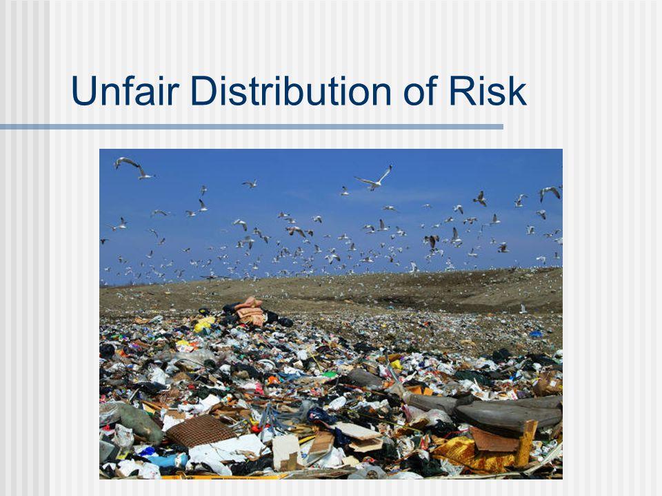 Unfair Distribution of Risk