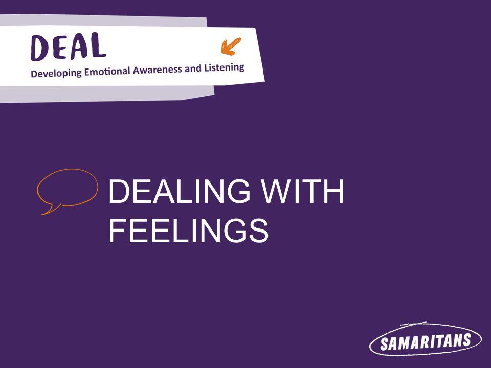DEALING WITH FEELINGS