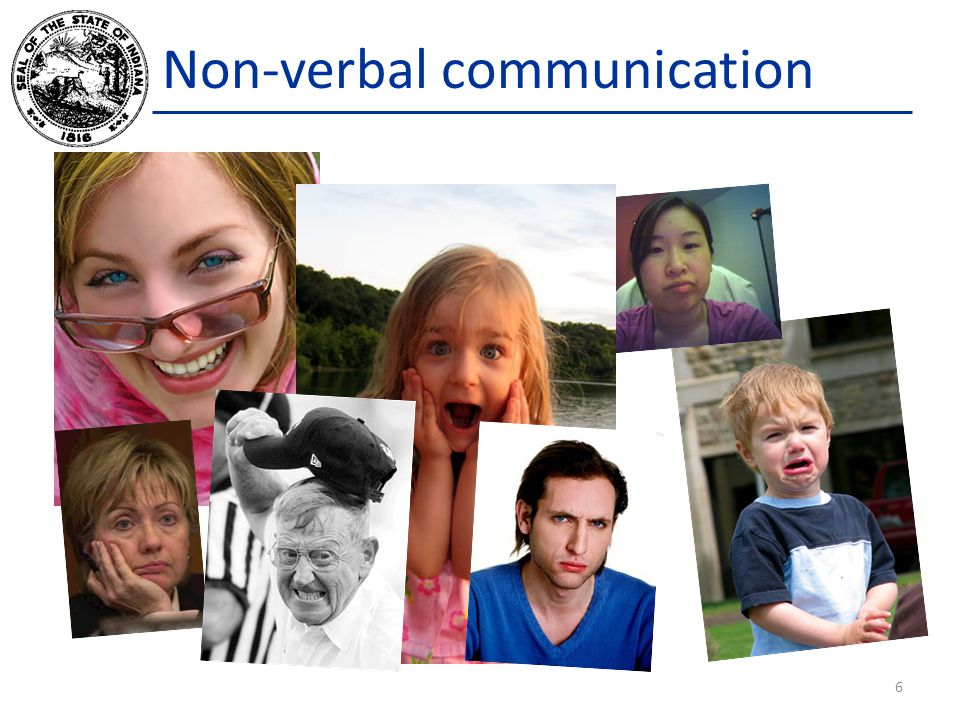 Non-verbal communication 6