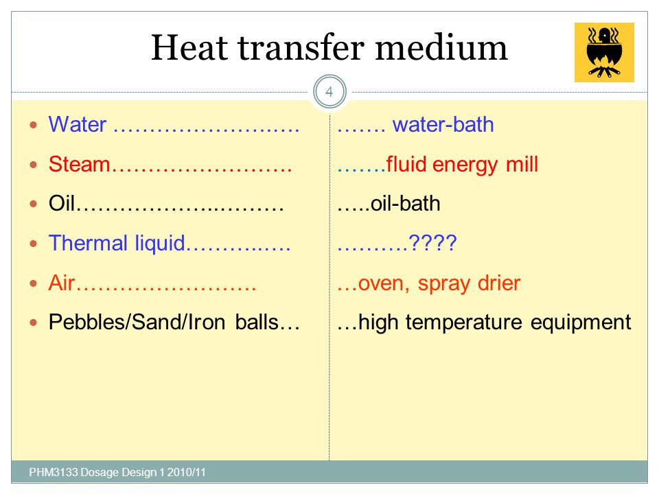 Practical Heat Transfer 3 1.You stir some hot soup with a silver spoon and notice that the spoon warms up. 2.You stand watching a bonfire, but can't g