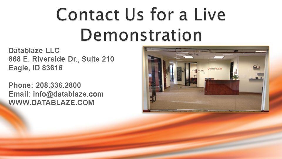 Datablaze LLC 868 E.