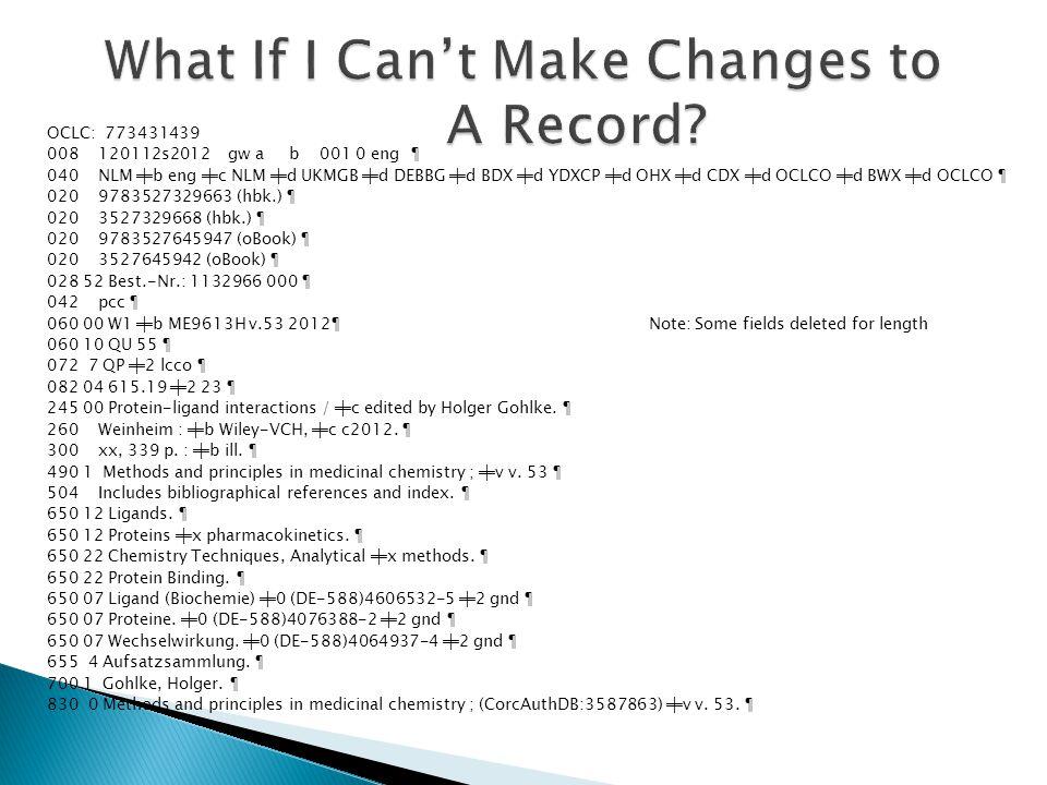 OCLC: 773431439 008 120112s2012 gw a b 001 0 eng ¶ 040 NLM ╪b eng ╪c NLM ╪d UKMGB ╪d DEBBG ╪d BDX ╪d YDXCP ╪d OHX ╪d CDX ╪d OCLCO ╪d BWX ╪d OCLCO ¶ 02