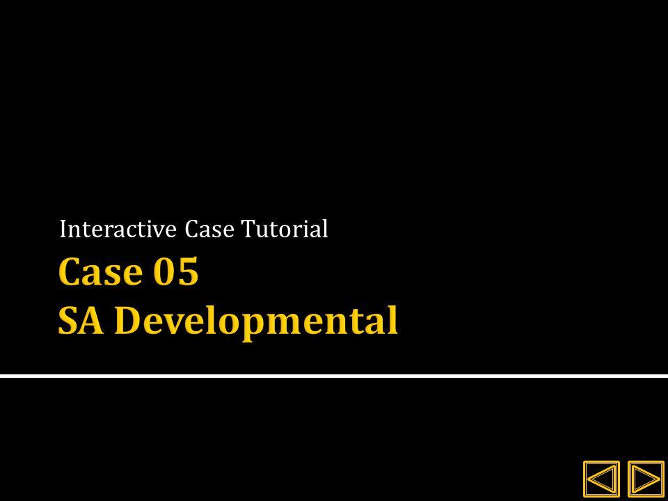 Interactive Case Tutorial