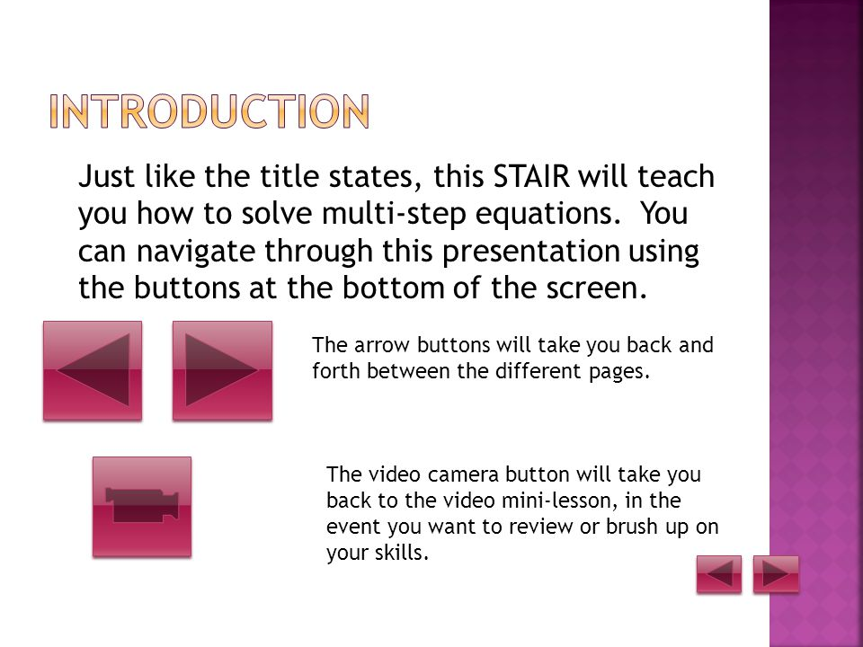 STAIR Project by Katlyn Witt Click on the arrow to advance to the next page