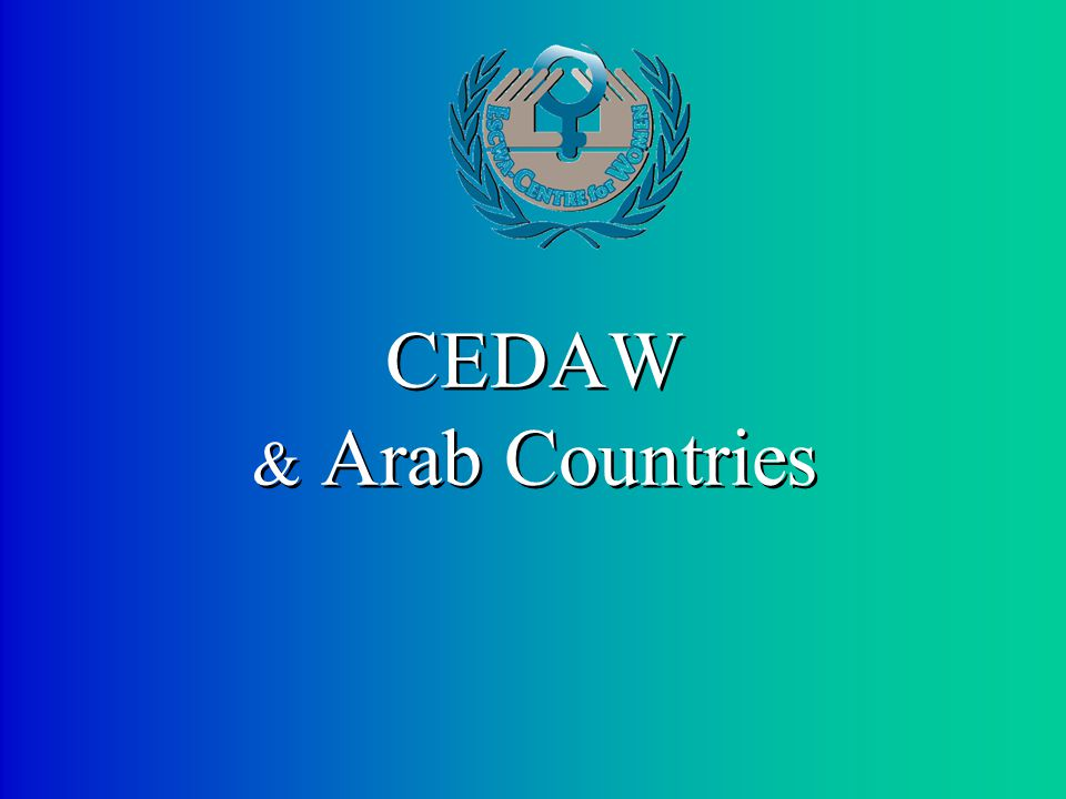 CEDAW & Arab Countries
