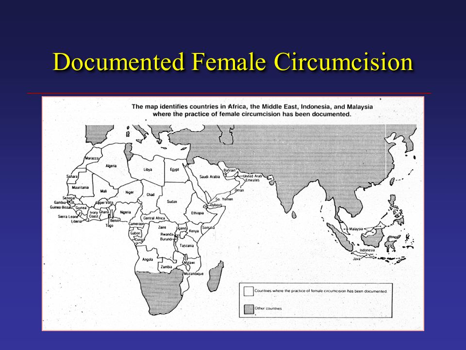 Documented Female Circumcision