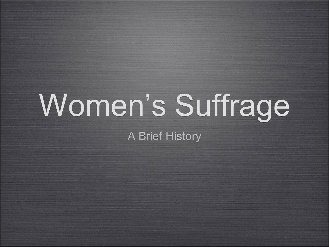 Suff-what.Suffrage - The right to vote Franchise - The right to vote.