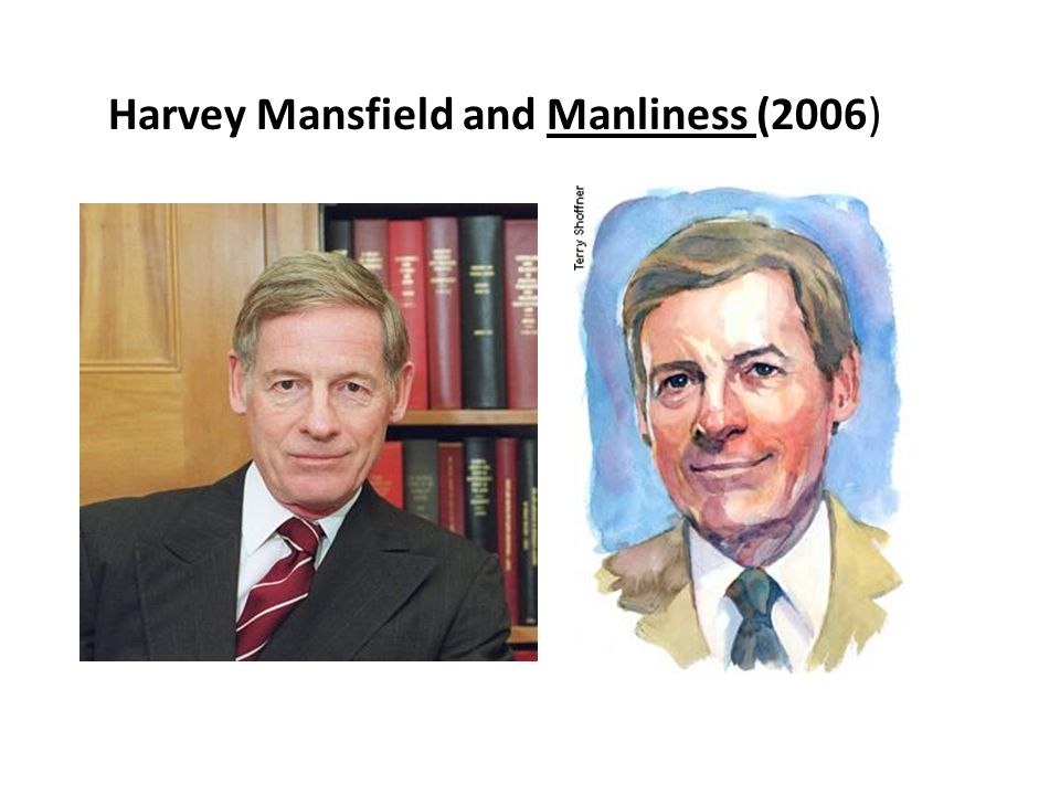 Harvey Mansfield and Manliness (2006)