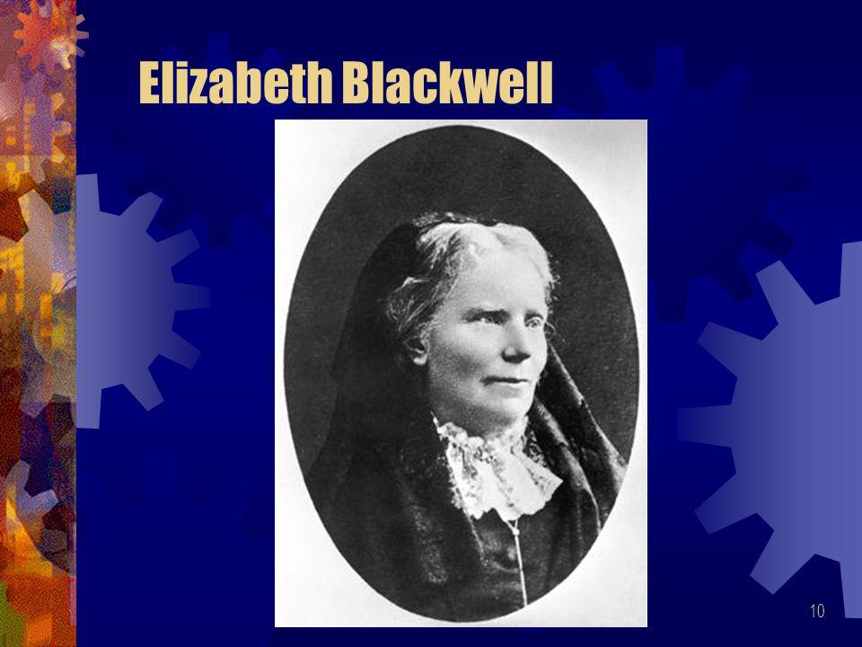 10 Elizabeth Blackwell