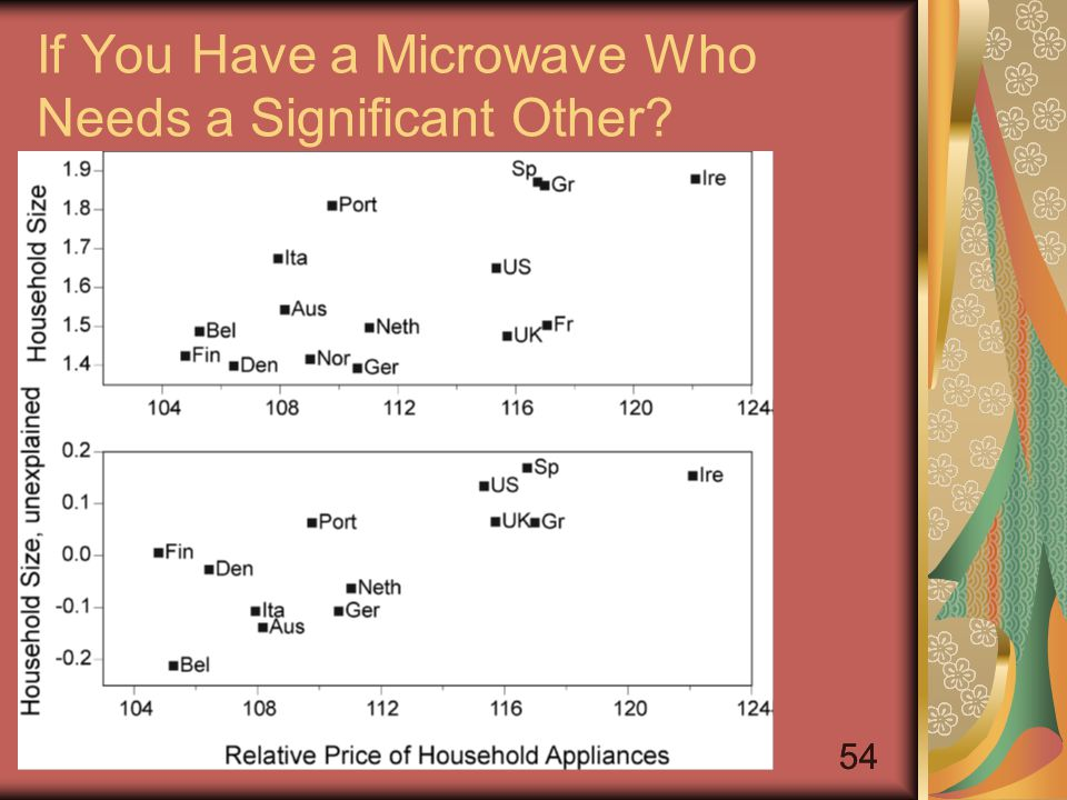 54 If You Have a Microwave Who Needs a Significant Other?