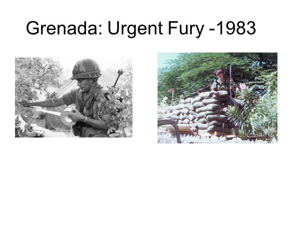 Grenada: Urgent Fury -1983