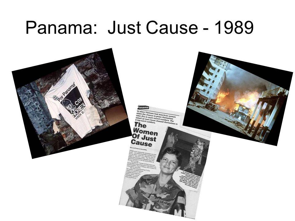 Panama: Just Cause - 1989
