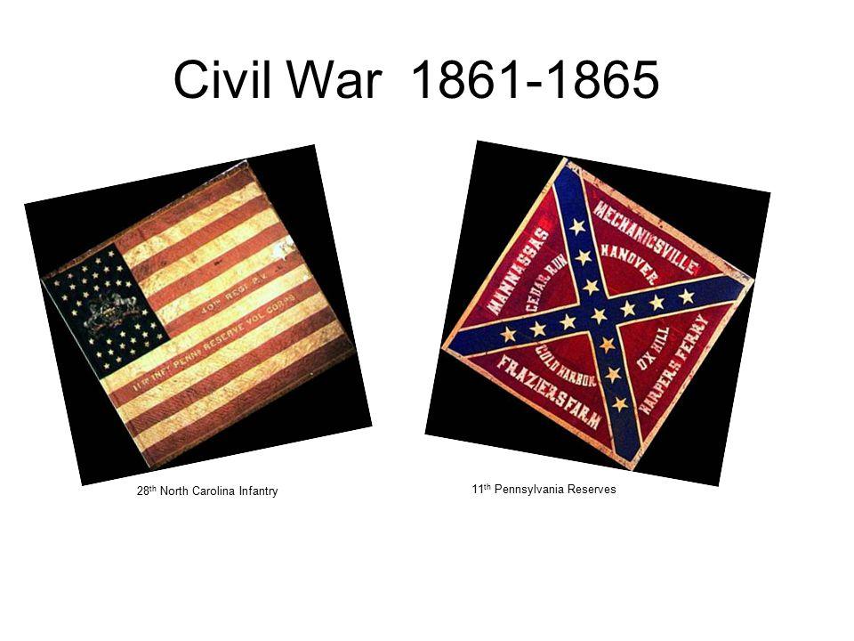 28 th North Carolina Infantry 11 th Pennsylvania Reserves Civil War 1861-1865