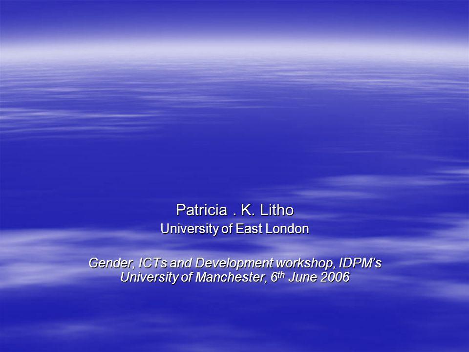 Patricia. K.