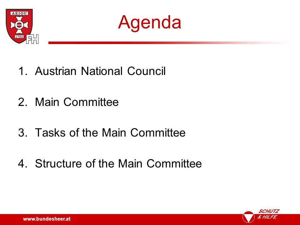 www.bundesheer.at Austrian National Council National Council Federal Council