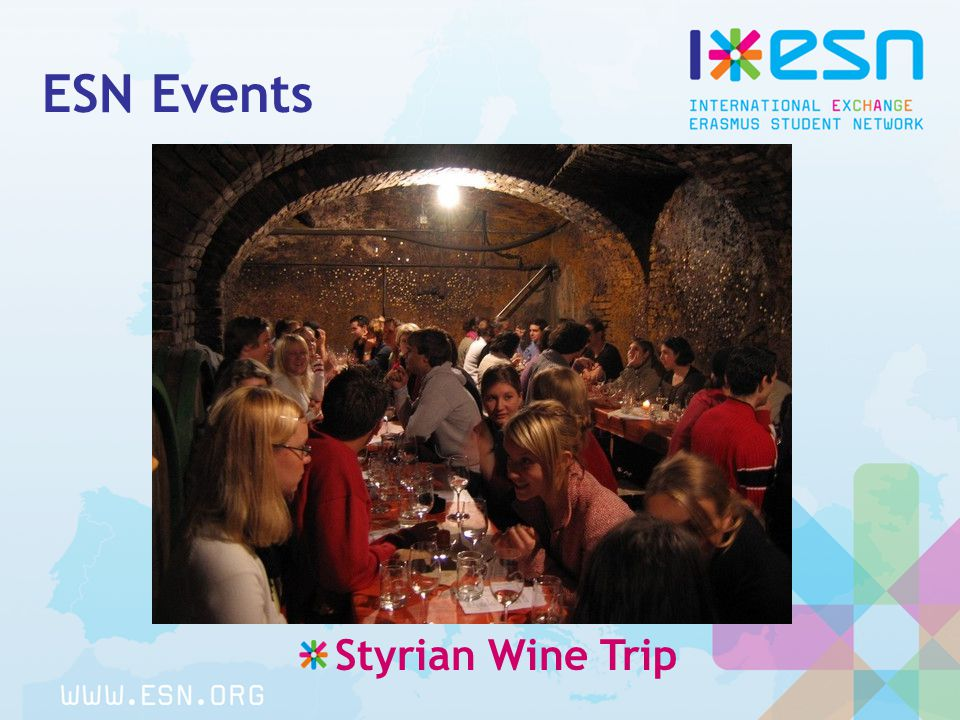 ESN Events Styrian Wine Trip