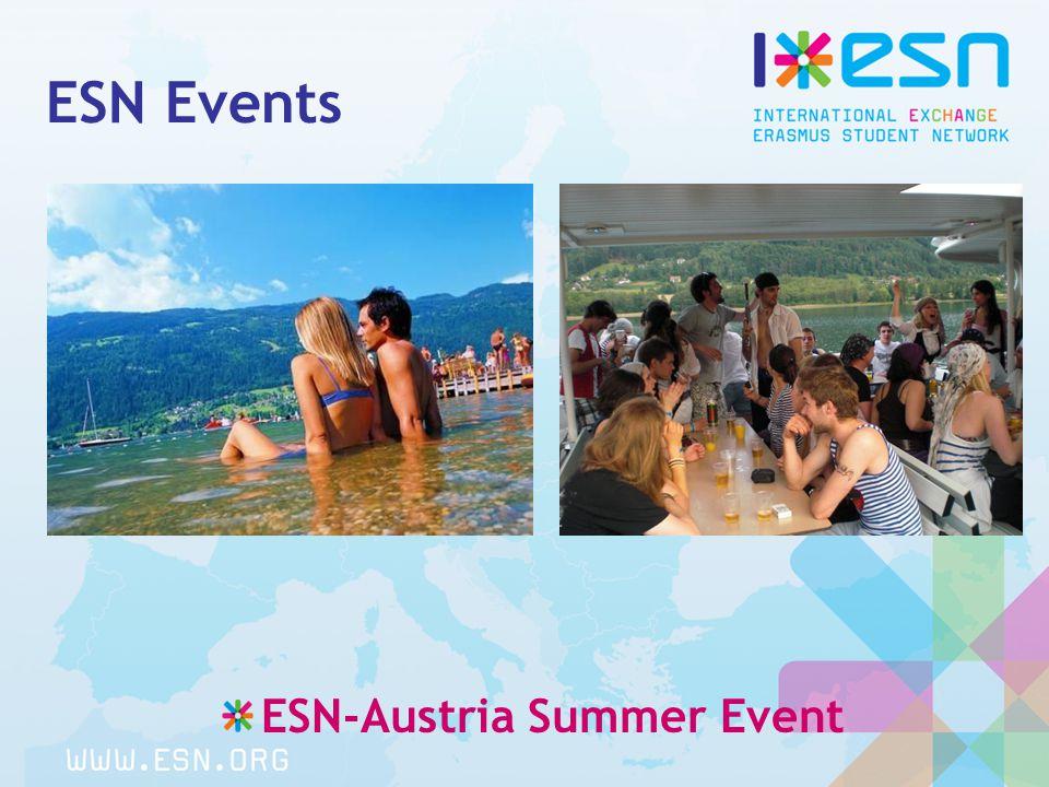 ESN Events ESN-Austria Summer Event