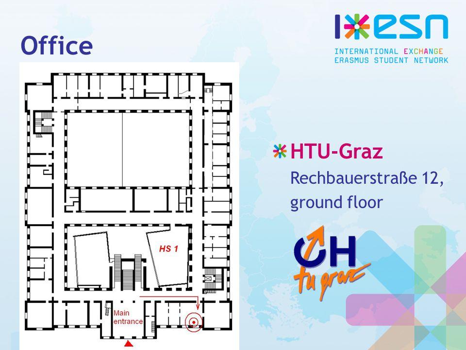 Office HTU-Graz Rechbauerstraße 12, ground floor