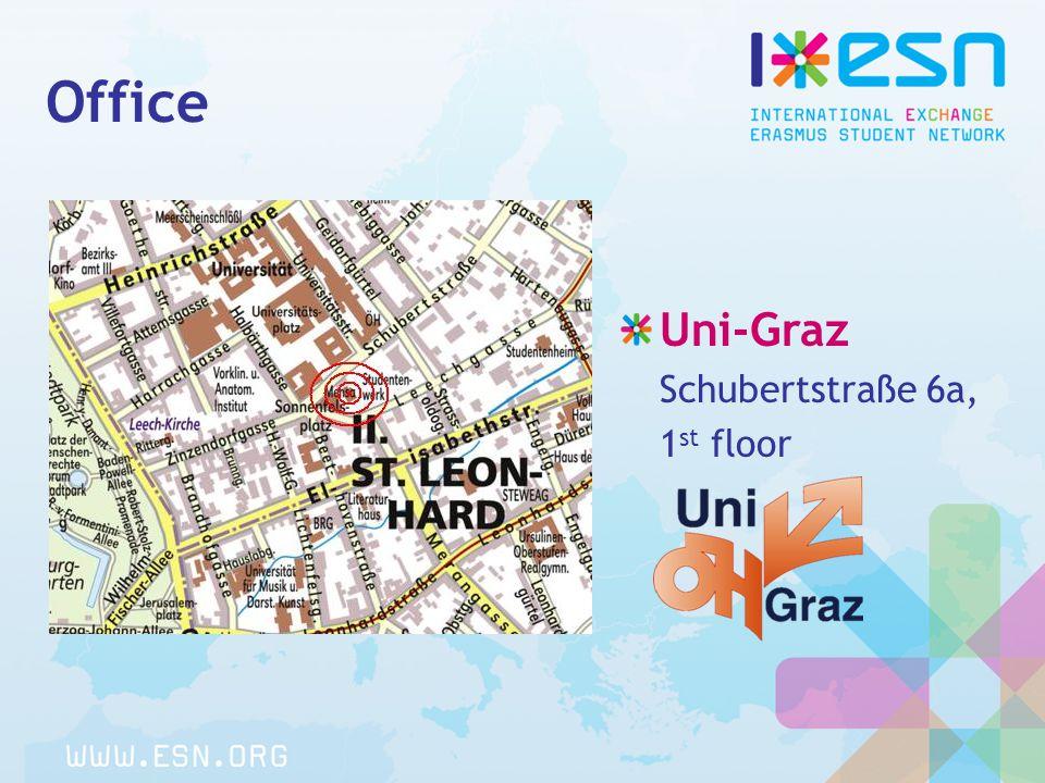 Office Uni-Graz Schubertstraße 6a, 1 st floor