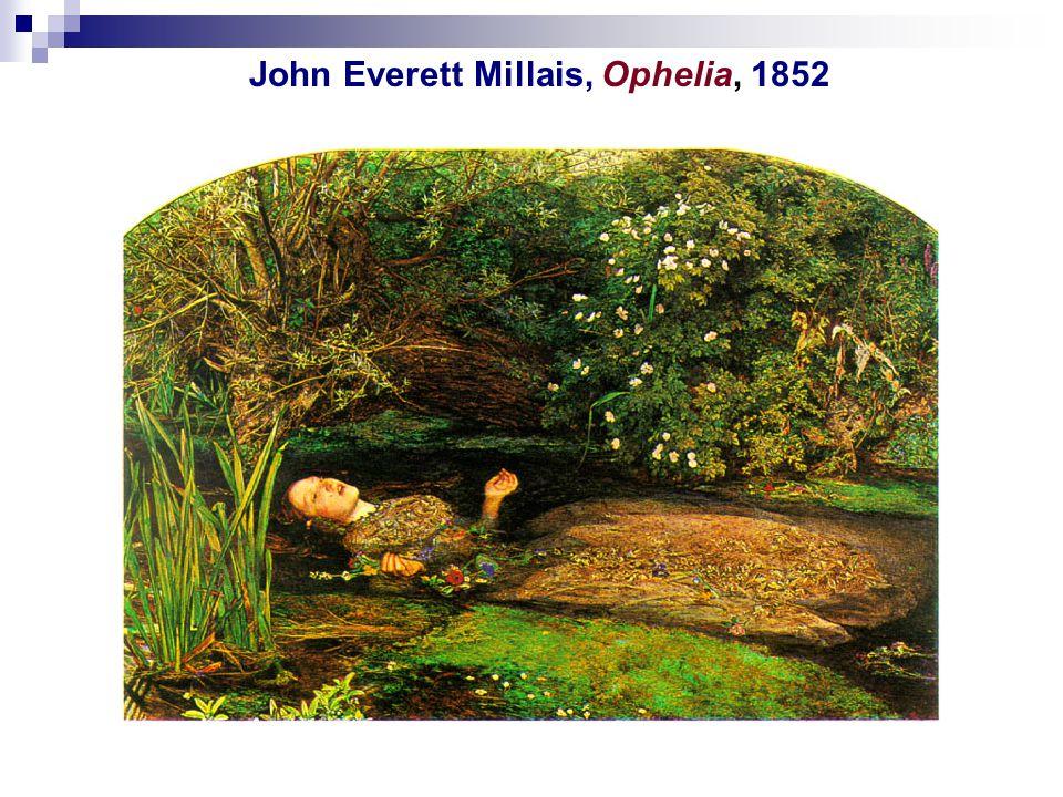 John Everett Millais, Ophelia, 1852